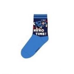 Ponožky Avengers - modré (Kapitán Amerika)