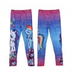 Legíny My little pony - fialovo-modré