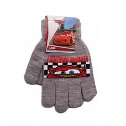 Prstové rukavice Auta - šedé