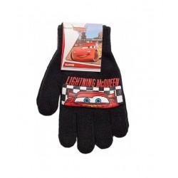 Prstové rukavice Auta - černé