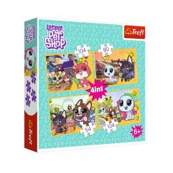 Puzzle 4v1 Littlest pet shop
