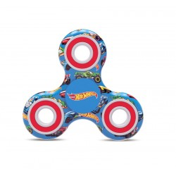 Spinner Hot wheels - modrá