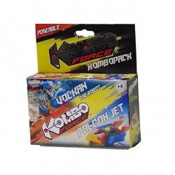 Kombo force - auto / robot - Volkan / Falcon jet
