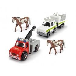 Požárník Sam - sada autíček...