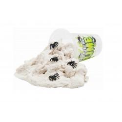 Strašidelný sliz / písek s pavoukama - bílý