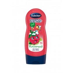 Bübchen - šampón & sprchový gel (malina)