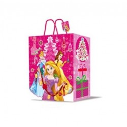 Dárková taška (vánoční) - Princezny - 33x 27x 12cm