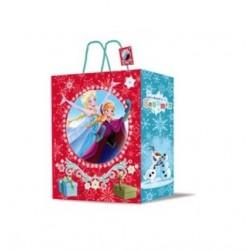 Dárková taška (vánoční) - Ledové království - 23x 18x 10cm