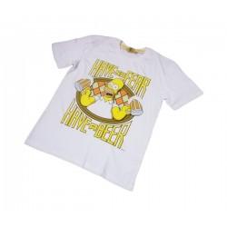 Pánské triko Simpsonovi - bílé