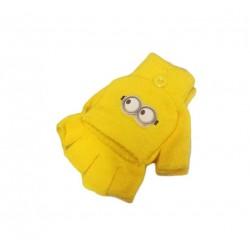 Přetahovací kombinované rukavice Mimoni