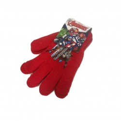 Prstové rukavice Avengers - červené