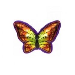 Plyšový polštář - motýl