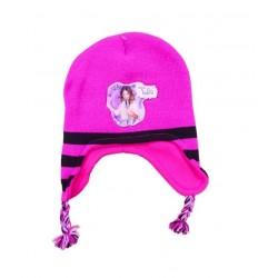 Čepice Violetta - růžovo-černá