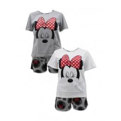 Dámské pyžamo / komplet - triko s kr. rukávem + kraťase Minnie Mouse