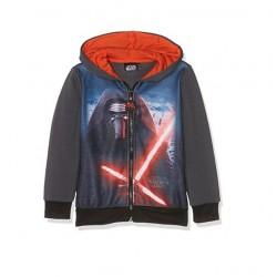 Mikina s kapucí Star wars - šedá