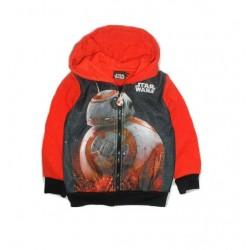 Mikina s kapucí Star wars - oranžová