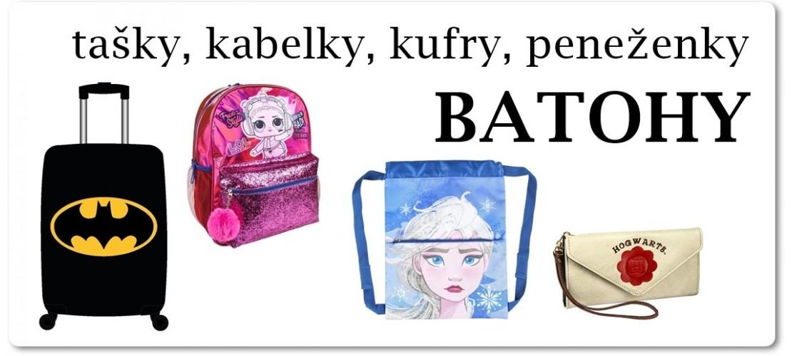 Batohy, kabelky, peněženky