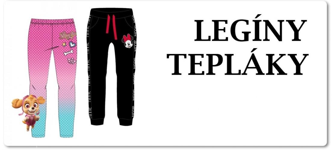 Legíny, kalhoty a tepláky