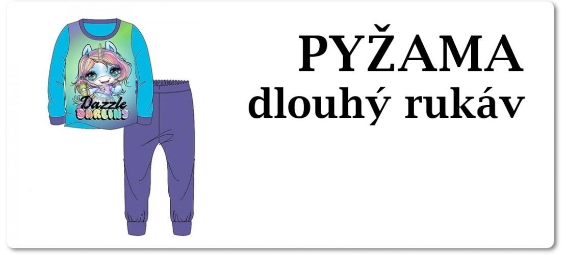 Pyžama s dlouhým rukávem